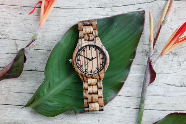 zegarki męskie drewniane